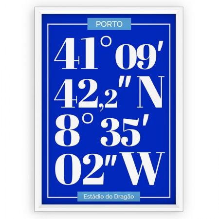 Plakat typograficzny - sportowy - FC PORTO